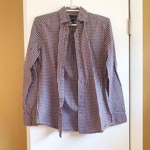 Gap plaid collared shirt